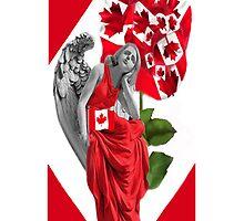☀ ツANGEL WATCHING OVER US IPHONE CASE (TRIBUTE TO CANADA) ☀ ツ by ✿✿ Bonita ✿✿ ђєℓℓσ