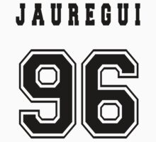 JAUREGUI - 96 // Black Text by INEFFABLE Designs