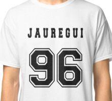 JAUREGUI - 96 // Black Text Classic T-Shirt