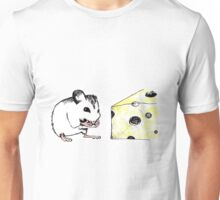 Big Cheese Little Mouse Unisex T-Shirt