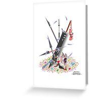Final Fantasy VII Illustration. Greeting Card