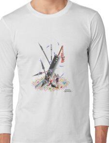 Final Fantasy VII Illustration. Long Sleeve T-Shirt