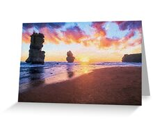 12 Apostles with Marshmallow Skies  (EH) Greeting Card