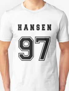 HANSEN - 97 // Black Text Unisex T-Shirt