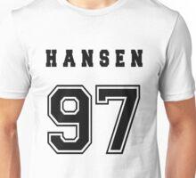 HANSEN - 97 // Black Text Unisex T-Shirt