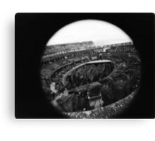 Eye of the Colosseum  Canvas Print