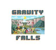 8-Bit Gravity Falls Photographic Print