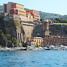 Yachts in Sorrento Harbor by hummingbirds