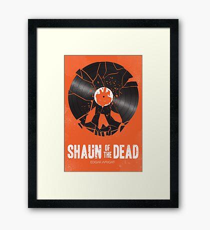Shaun of the dead Framed Print