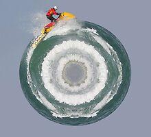 Waterski Planet by Tim  Swain