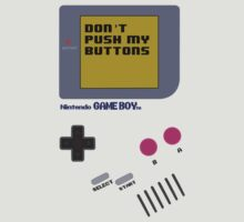 Nintendo - Don't Push My Buttons by Erin Muldoon