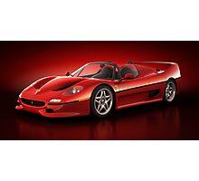 Ferrari F50 - Flare Photographic Print