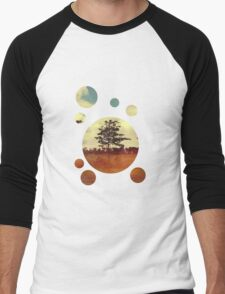 Trees Men's Baseball ¾ T-Shirt