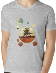 Trees Mens V-Neck T-Shirt