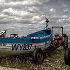 Boat Tractor Pier by Andrew Pounder