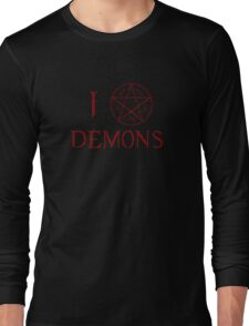 I Trap Demons Long Sleeve T-Shirt