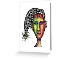 Hat trick  Greeting Card
