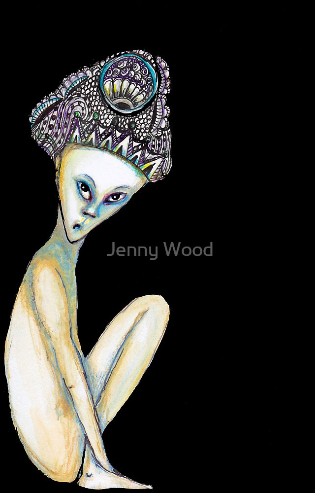 The crown of sorrow by Jenny Wood