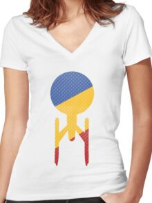 These Are The Voyages.... Women's Fitted V-Neck T-Shirt