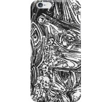freestyle ink drawing 001 iPhone Case/Skin