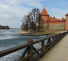 traku castle Lithuania by linatk