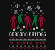 Season Eatings Ugly Christmas Unisex T-Shirt