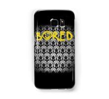 Sherlock - Bored (with wallpaper) Samsung Galaxy Case/Skin