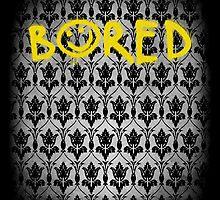 Sherlock - Bored (with wallpaper) by Yithian