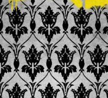 Sherlock - Bored (with wallpaper) Sticker