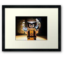 Nigel dreams of X-men Framed Print