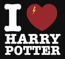 I Heart Harry Potter [Dark Edition] by Sandy W