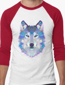 Wolf Animals Gift Men's Baseball ¾ T-Shirt