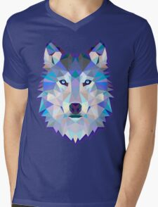 Wolf Animals Gift Mens V-Neck T-Shirt