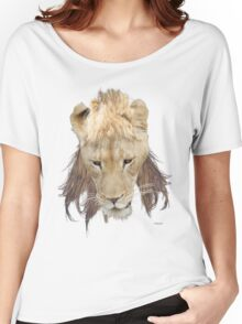 The Mullet King White Tee Women's Relaxed Fit T-Shirt