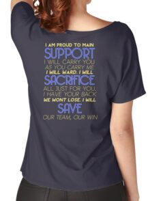 I Am Support Women's Relaxed Fit T-Shirt