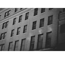 Windows. Photographic Print