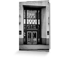 Doors. Greeting Card
