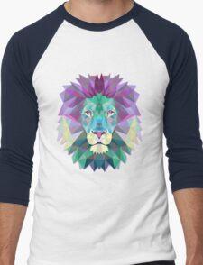 Lion Animals Gift Men's Baseball ¾ T-Shirt