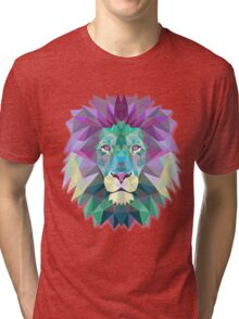 Lion Animals Gift Tri-blend T-Shirt