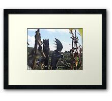 Man Of Iron Framed Print
