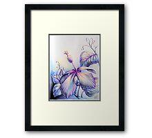 Fantasy Flower Framed Print