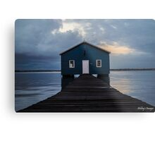 Crawley Boatshed Metal Print