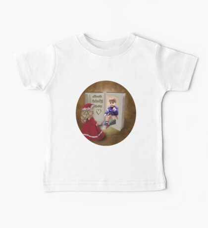 BOOKS CAN HAVE A HAPPY ENDING KIDS TEE SHIRT Baby Tee