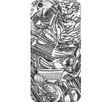 freestyle ink drawing 002 iPhone Case/Skin