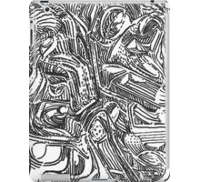 freestyle ink drawing 002 iPad Case/Skin