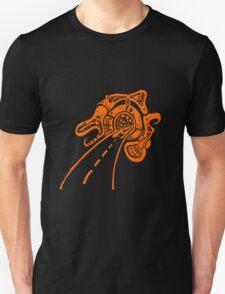 Road works - Orange T-Shirt