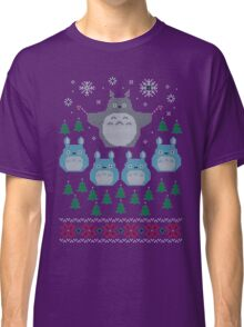 Totoro Ugly Christmas Sweater Classic T-Shirt