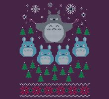 Totoro Ugly Christmas Sweater Unisex T-Shirt