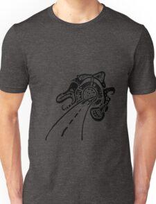 Road works - Black Unisex T-Shirt