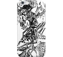 freestyle ink drawing 005 iPhone Case/Skin